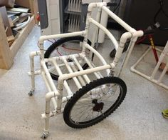 PVC Wheelchair,(1 inch Pipe)