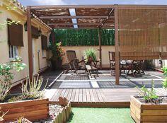 Construcción de una terraza : Balcones y terrazas de estilo mediterráneo de Bervic Interiorismo