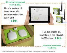 twingz entwickelt mit dem eCoach und dem eButler innovative Produkte für die intelligente Steuerung und Optimierung des Energieverbrauchs in Haushalten und Unternehmen. Mp3 Player, Innovative Products, Energy Consumption, Business