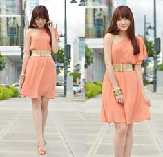 Everything's Peachy (by Camille Co) http://lookbook.nu/look/4719363