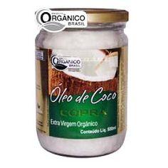 �leo de Coco Extra Virgem Org�nico 500ml - Copra