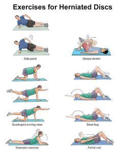 Exercise for Herniated disc/ Exeercise for disc prolapse/exercise fo slipped disc. //// ท่าออกกำลังสำหรับหมอนรองกระดูกทับเส้น