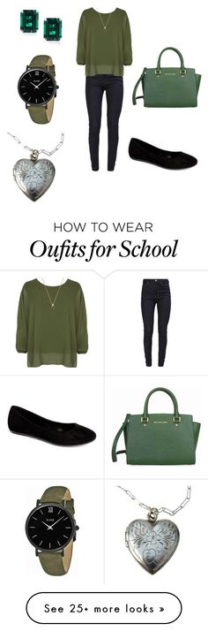 """""""School"""" by simmer-com on Polyvore featuring Calvin Klein, WearAll, Com Fancy, Michael Kors, CARAT* London and CLUSE"""