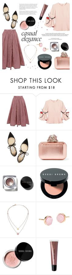 """pink"" by raniaghifaraa ❤ liked on Polyvore featuring Tome, Roksanda, Jimmy Choo, Louis Vuitton, Bobbi Brown Cosmetics, Michael Kors and Pernille Corydon"
