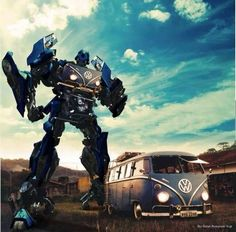 VW Bus to VW Transformer ;P