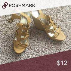 Wedge Sandals Stay summer ready with these sandals. Match with your fav shorts or maxi dress! Shoes Wedges