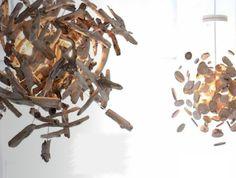 Treibholz Pendelleuchten ~ driftwood pendant lights