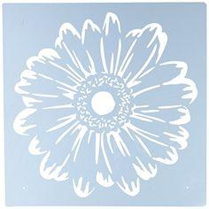 Image result for Large Flower Stencils