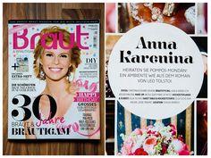 ©Christina & Eduard Wedding Photography  Themen-Hochzeit: Anna Karenina im Magazin Braut & Bräutigam