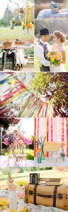 Ideas para decorar una boda estilo boho chic