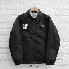 ANT Menswear inspiration: Carhartt WIP State Coach Jacket Black