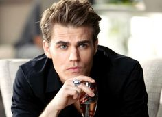 Well, Paul Wesley has already been on the covers of books, but I just love looking at him! He's perfect. So beautiful and looks like he could be Hunter Hayes' big brother.
