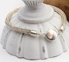 sterling silver viking knit bracelet, by DesignsbyCaz, £50.00