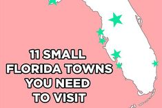 11 Stunning Florida Towns You Need To Visit - my old place was Delray Beach and it's good to see (or maybe not) they are now on the map as it used to be undiscovered and so private. www.aaa.com/travel