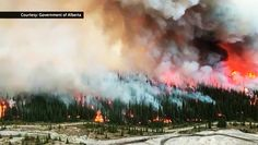 Bighorn fire burns out of control | CTV News Blackrock Mountain, Anton Pieck, Alberta Canada, Cool Watches, Burns, Fire, Clouds, News, Water