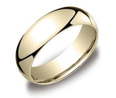 14k Yellow Gold 6mm Comfort Fit Men's Wedding Band with Satin Center   Blog   wedding bands - Yahoo! Blog
