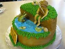 photo of fishing cake - Yahoo Image Search Results