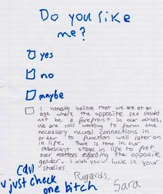 a funny love letter