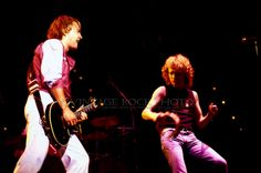 Foreigner Photo Lou Gramm Mick Jones 8x12 or 8x10 in '81 Richfield Oh Concert 21 | eBay