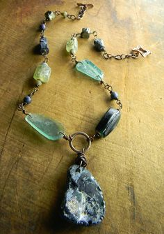 Chrysalis for the Curious: Rustic Roman Glass Jewelry