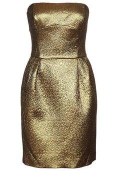 Gold Dress  Gold Dress #2dayslook #ramirez701 #GoldDress  www.2dayslook.com