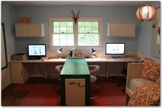 Awesome homeschool room makeover