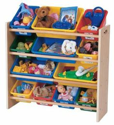 Amazon.com: Tot Tutors Toy Organizer, Primary Colors: Home & Kitchen. For Sam's room?