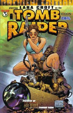 #ThrowbackThursday: The Top Cow Productions, Inc. Tomb Raider series ran 50 issues, in addition to a slew of one-shots and crossovers. The series attracted a ton of top-tier artists, including Michael Turner, Marc Silvestri, David Finch, Andy Park, Billy Tan, Adam Hughes, Randy Green, and more. #TombRaider20