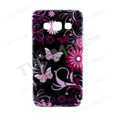 Butterflies and Flower TPU Case for Samsung Galaxy A3 SM-A300F