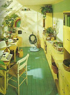 Vintage Decorating 1970s, Custom Room