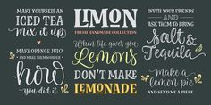 Check out the Limon font at Fontspring.