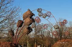 #Willow #Sculpture #Wakehurst Place January 2016 www.pinterest.com/annbri/