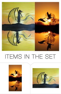 """""""Autumn Dance"""" by pheinart ❤ liked on Polyvore featuring art"""