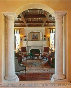 RoomReveal - Tuscan Villa by Debra George Ryan