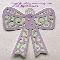 Shirley's Cards: Freebie Filigree Bow embellishment