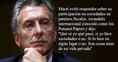 """eCdlNoticias: Macri """"esta tranquilo"""" en paraísos fiscales"""
