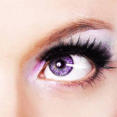 Rare and Unique Eye Colors Pretty purple eyes naturally occur because of a lack of pigment, but are very rare.Pretty purple eyes naturally occur because of a lack of pigment, but are very rare. Beautiful Eyes Color, Pretty Eyes, Cool Eyes, Rare Eye Colors, Unique Colors, Rare Eyes, Yennefer Of Vengerberg, Eyelash Sets, Violet Eyes
