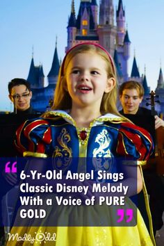 Little Girl With The Voice of an Angel Captures Hearts When She Sings Classic Disney Melody - Claire Crosby sings every Disney Princess song at Disney World Disney Princess Songs, Disney Songs, Dance Music Videos, Music Songs, Claire Ryann, Good Playlists, Little Girl Singing, Best Country Music, Beautiful Songs