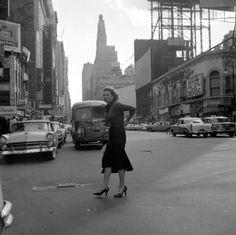 Vivian Maier, New York, 1956
