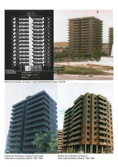Edificios de Viviendas, 1981-1986