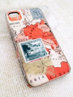 travel map iphone case
