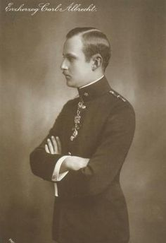Archduke Karl Albrecht of Austria-Teschen (1888–1951). He married morganatically Alice Elisabeth Ankarcrona.