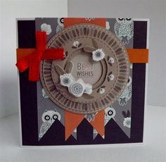 Inspiration | docrafts.com Best Wishes Card, Owl Card, Owls, Card Ideas, Projects To Try, Stamps, Urban, Holiday Decor, Cards