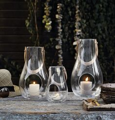 Design with Light Table lanterns are from the award winning series created by Maria Bernsten for Holmegaard. Maria loves glass as a medium due to it's visual lightness & ability to capture & reflect light. These mouth blown glass lanterns have Decor Interior Design, Interior Decorating, Tall Lanterns, Glass Lanterns, Scandinavian Design Centre, Cadeau Design, Scandinavia Design, Lantern Designs, Design Bestseller