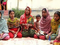 Adolescent girls in Bangladesh's Mymensingh district meet once a week to discuss their rights. Here they talk about sanitation and personal ...