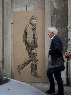 Artist Pascal Bruandet...Paris
