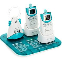 Angelcare - Deluxe Movement Sensor with Sound Monitor, 2 Parent Units