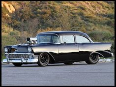 1956 Chevrolet Custom Sedan 496/750 HP, 6-71 Blower