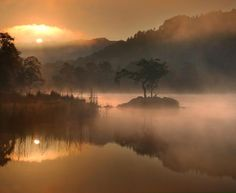 . .  Rydal Water . .Managed to capture a sunrise here with mist only been trying for about 9 years! Super stoked as you can imagine! . . . Check out - - - . . .  @greg_dubois  . .  @mark_handy_  . . .  @bay.photography  . . . . Throughout this Autumn/Fall in the Lake District I'll be conducting1 to 1 single dayworkshops. So if your visiting this beautiful area from anywhere in the world or just localand would like to photograph some of the most iconic locations(and some hidden ones too!) and…