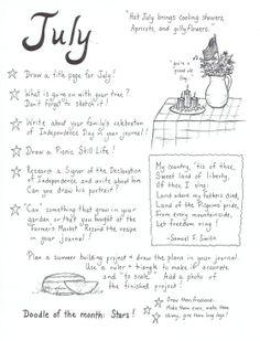 Art Journalling! |  July